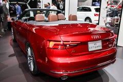 Audi A5 2 Quattro de 0 T mostrado en el auto internacional S de Nueva York Fotografía de archivo libre de regalías