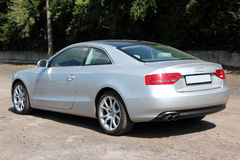 Audi A5 Quattro 2009 grey. Klima Royalty Free Stock Photography