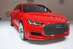 Audi Quattro at Paris Motor Show - Oct 2014 Stock Photos