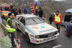Audi Quattro rally car Royalty Free Stock Image