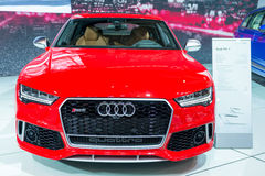 Audi Quattro RS7 in  the CIAS Royalty Free Stock Photo