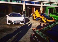 Audi R8 Stockbilder