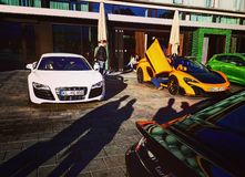 Audi R8 Immagini Stock