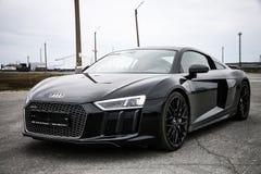 Audi R8 stockfotografie