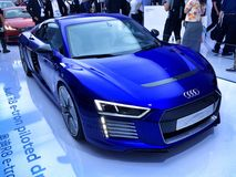 Audi R8 on Ces Asia 2015, Royalty Free Stock Images