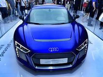 Audi R8 on Ces Asia 2015,China Royalty Free Stock Photos