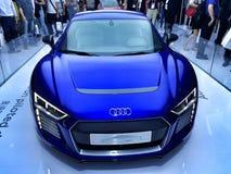 Audi R8 on Ces Asia 2015,China Royalty Free Stock Photos