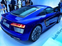 Audi R8 on Ces Asia 2015,China Stock Images