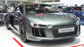 Audi R8 Coupé at the 34th Thailand International Motor Expo 2017