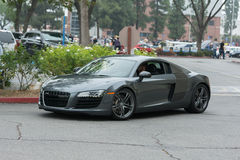 Audi R8 Coupe car on display Royalty Free Stock Photos