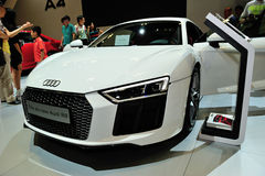 Audi R8 display during the Singapore Motorshow 2016 Stock Photo