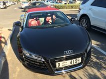Audi R 8 in Dubai Royalty Free Stock Photography
