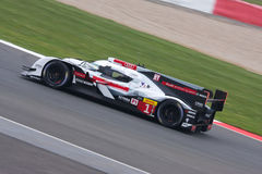 Audi R18 e-tron Car Number 1 competing at the 6 Hours of Silverstone Stock Photo