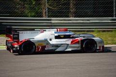 Audi R18 E-Tron Quattro LMP1 Monza test 2015 Stock Images