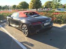 Audi R 8 en Dubai Fotografía de archivo libre de regalías
