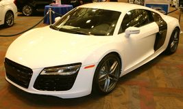 2015 Audi R8 Exotic Sports Car Royalty Free Stock Image