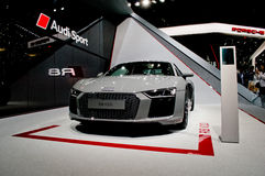 Audi R8 at Geneva 2016 stock images