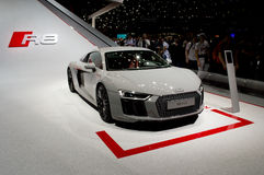 Audi R8 at Geneva 2016 Stock Photos