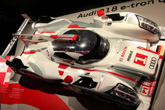 Audi R18 Le Mans car royalty free stock photos