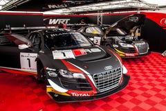 Audi R8 LMS Immagini Stock Libere da Diritti