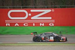 Audi R8 LMS GT3 2016 prov på Monza Arkivfoton