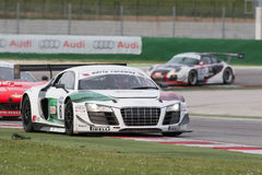 Audi R8 LMS GT3 race car Stock Images