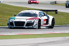 Audi R8 LMS GT3 race car Royalty Free Stock Image