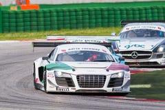 Audi R8 LMS GT3 racerbil Royaltyfri Bild