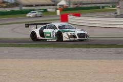 Audi R8 LMS racerbil Arkivfoton