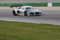 Audi R8 LMS racerbil Royaltyfria Bilder