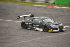 Audi R8 LMS Ultra GT3 2016 test at Monza Royalty Free Stock Images