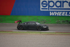 Audi R8 LMS Ultra GT3 2016 test at Monza Stock Photo