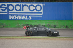 Audi R8 LMS Ultra GT3 2016 test at Monza Stock Photos