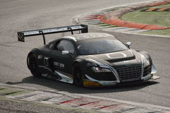 Audi R8 LMS Ultra GT3 2016 test at Monza Royalty Free Stock Photography