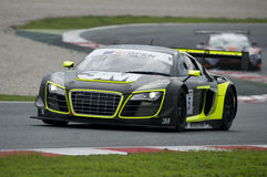 Audi R8 LMS Ultra.  International GT Open. At Circuit of Barcelona. Montmelo, Spain. November 5, 2016 Stock Photography