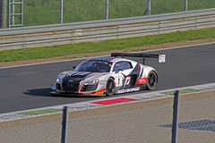 Audi r8 lms ultra. On race Royalty Free Stock Photos