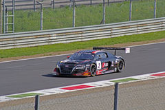 Audi r8 lms ultra. On track Royalty Free Stock Photo