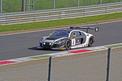 Audi r8 lms ultra. On track Royalty Free Stock Photography