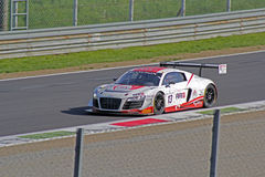 Audi r8 lms ultra. On track Stock Photos