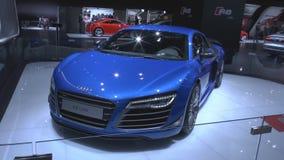 Audi R8 LMX el primer coche serial del mundo con las luces laser metrajes
