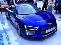 Audi R8 op Ces Azië 2015, Royalty-vrije Stock Afbeeldingen