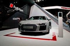 Audi R8 på Genève 2016 Arkivbilder