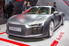 2015 Audi R8. Presented the 85th International Geneva Motor Show Stock Image
