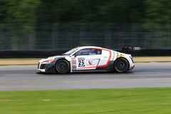 Audi R8 racing car Stock Photo
