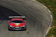 Audi R8 racing team Stock Photo