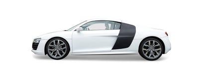 Audi R8 sportbil Royaltyfri Bild
