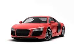Audi r8 sports car. On white background Royalty Free Stock Photo