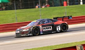 Audi R8 sports car Stock Photos