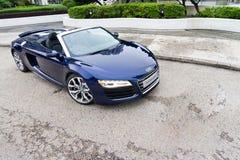 Audi R8 Spyder 2013 Model Stock Photography