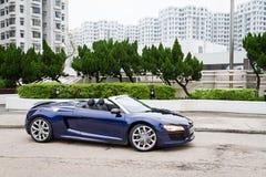 Audi R8 Spyder 2013 Model Royalty Free Stock Photo